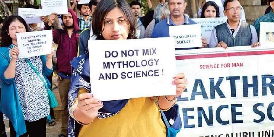 Image result for science congress 2019,protests