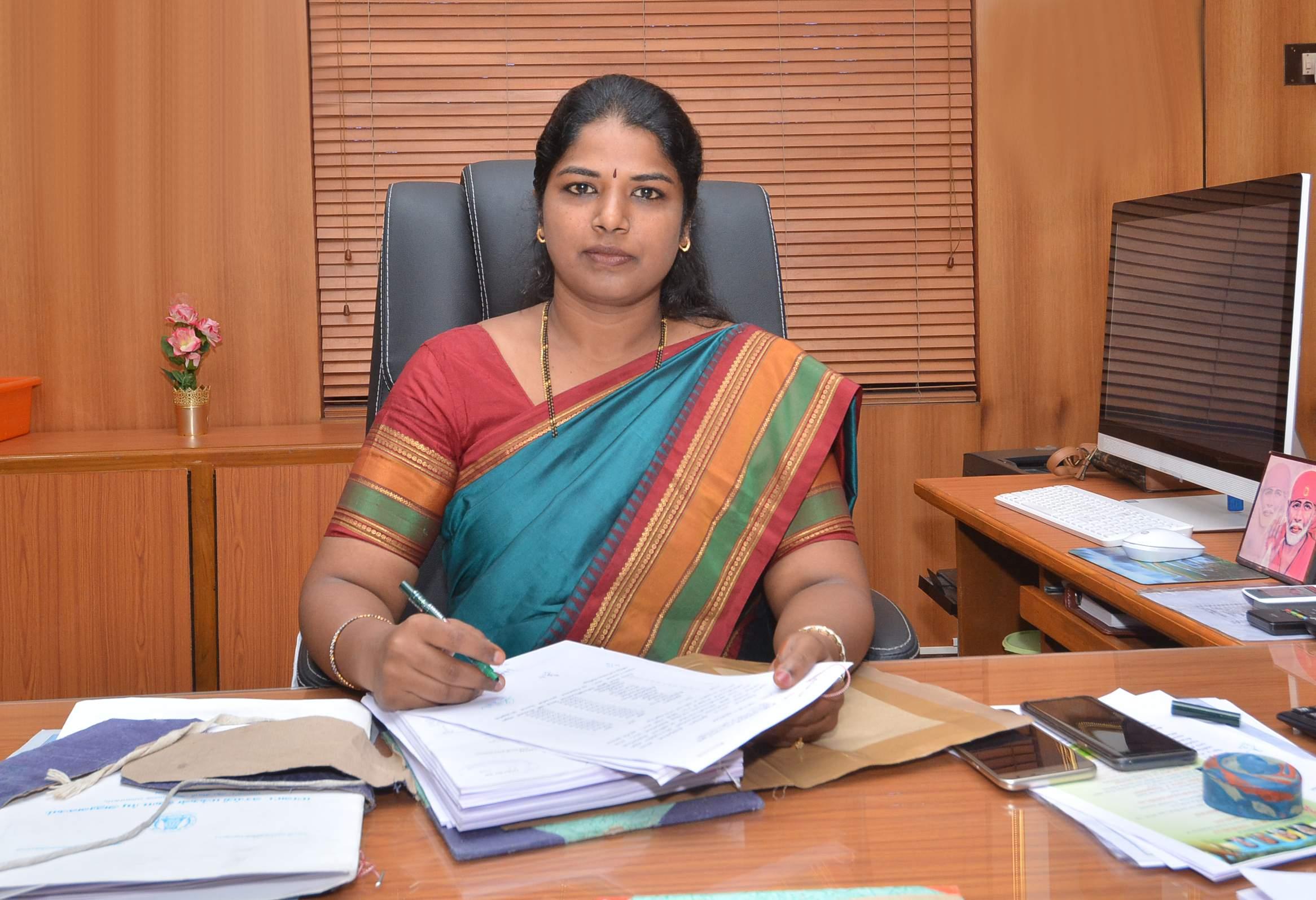 Tirunelveli District Collector Shilpa Prabhakar Satish