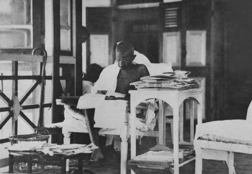 Mohandas-K-Gandhi