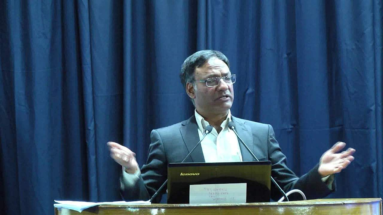 Ashutosh Sharma, Secretary to the Department of Science and Technology (DST)