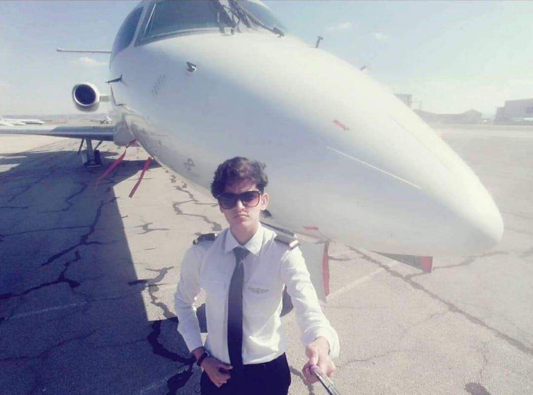 Adam Harry first transman pilot