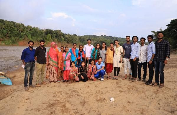 The students visited Kerala on October 27