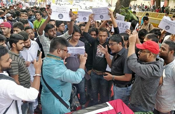 MTech protest