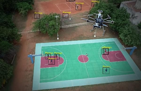 IIT Madras Drone