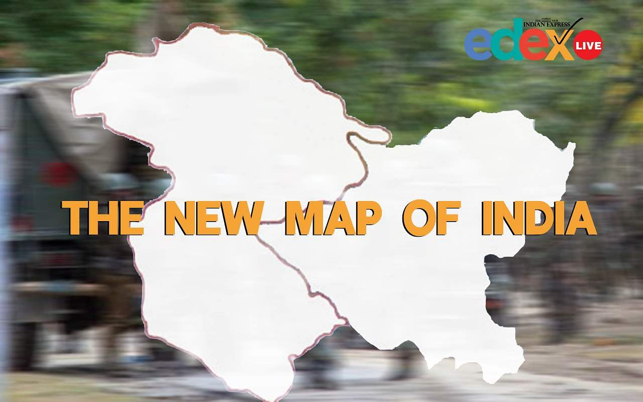 New Map of India