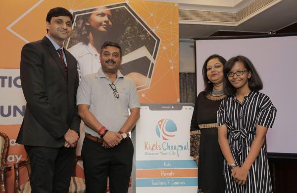 Mr_DevenCo-founers of KidsChaupal along with their brand ambassador, Tisya Singh (Pic: dra_Jaiswal,_Mr_Ashish_Srivastava_Ms_Rashmi_Singh_(Co-Founders)_Ms_Tisya_Singh,_Brand_Ambassador,_KidsChaupal_(2)