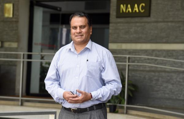 NAAC Director Dr S C Sharma| Pic: Nagaraja Gadekal