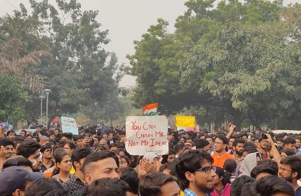 JNUSU Protest