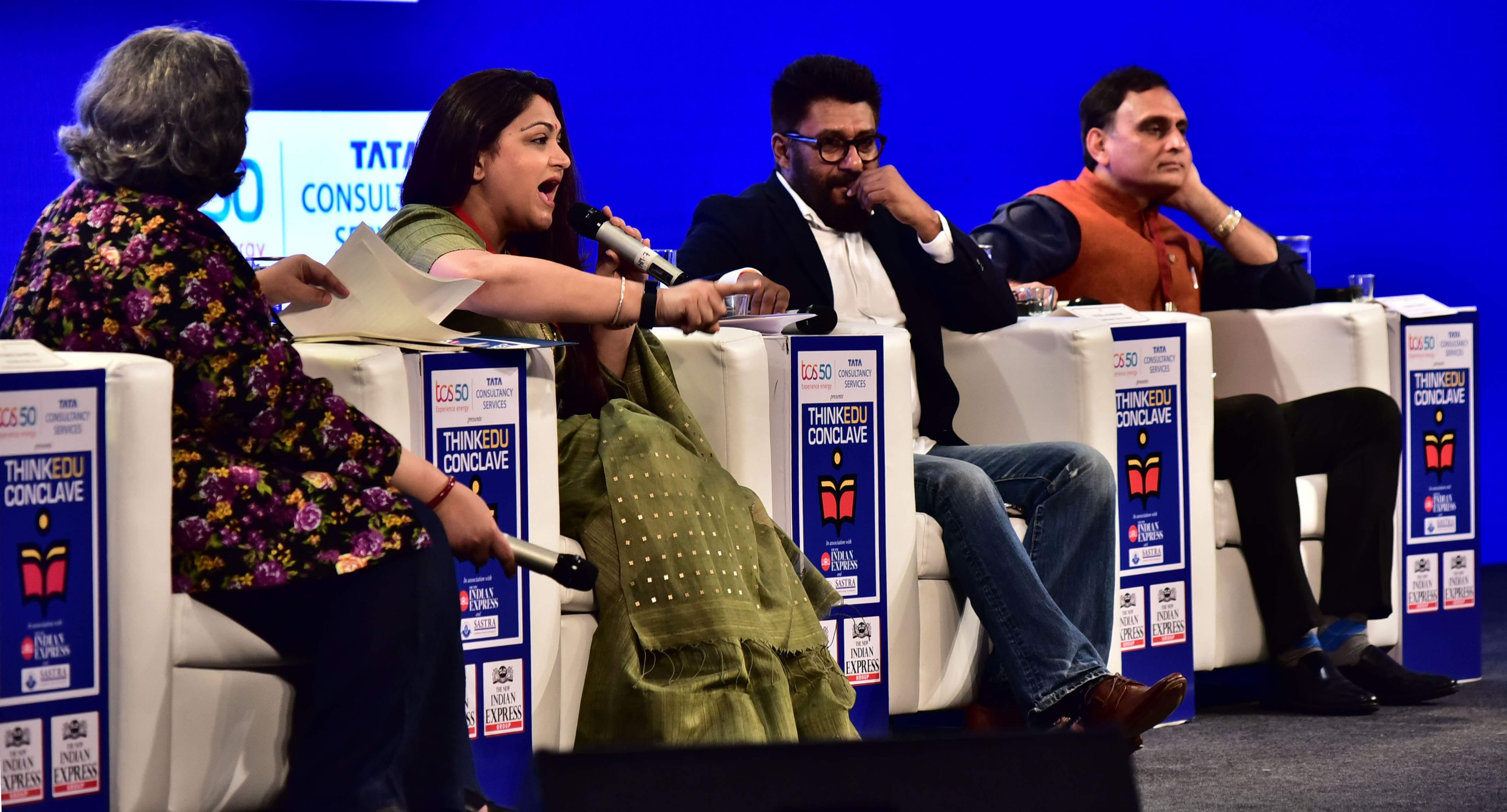 Khushbu Sundar, Vivek Agnihotri