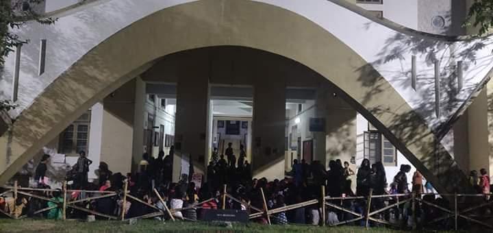 Women Hostellers protest , Trivandrum