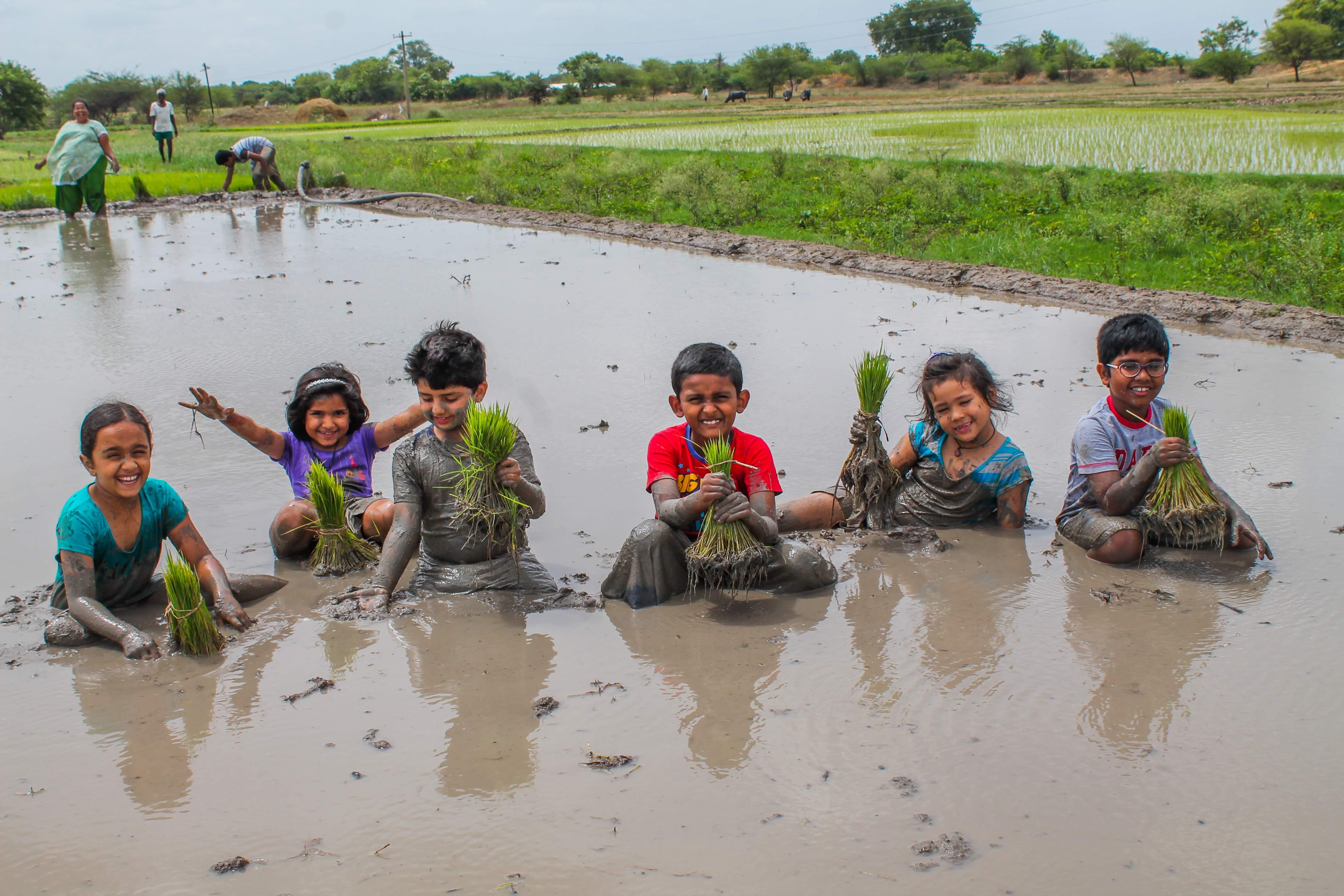 urban kids at Villages school trip