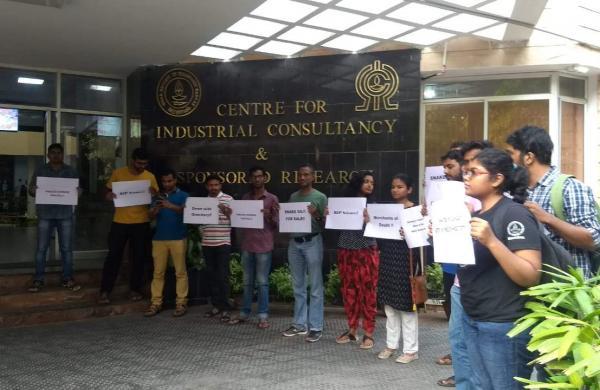 IIT Madras protest