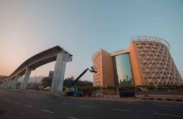 Best view: A picture of Cyber Towers in Hyderabad from Picxy's archives | (Pic: Picxy)