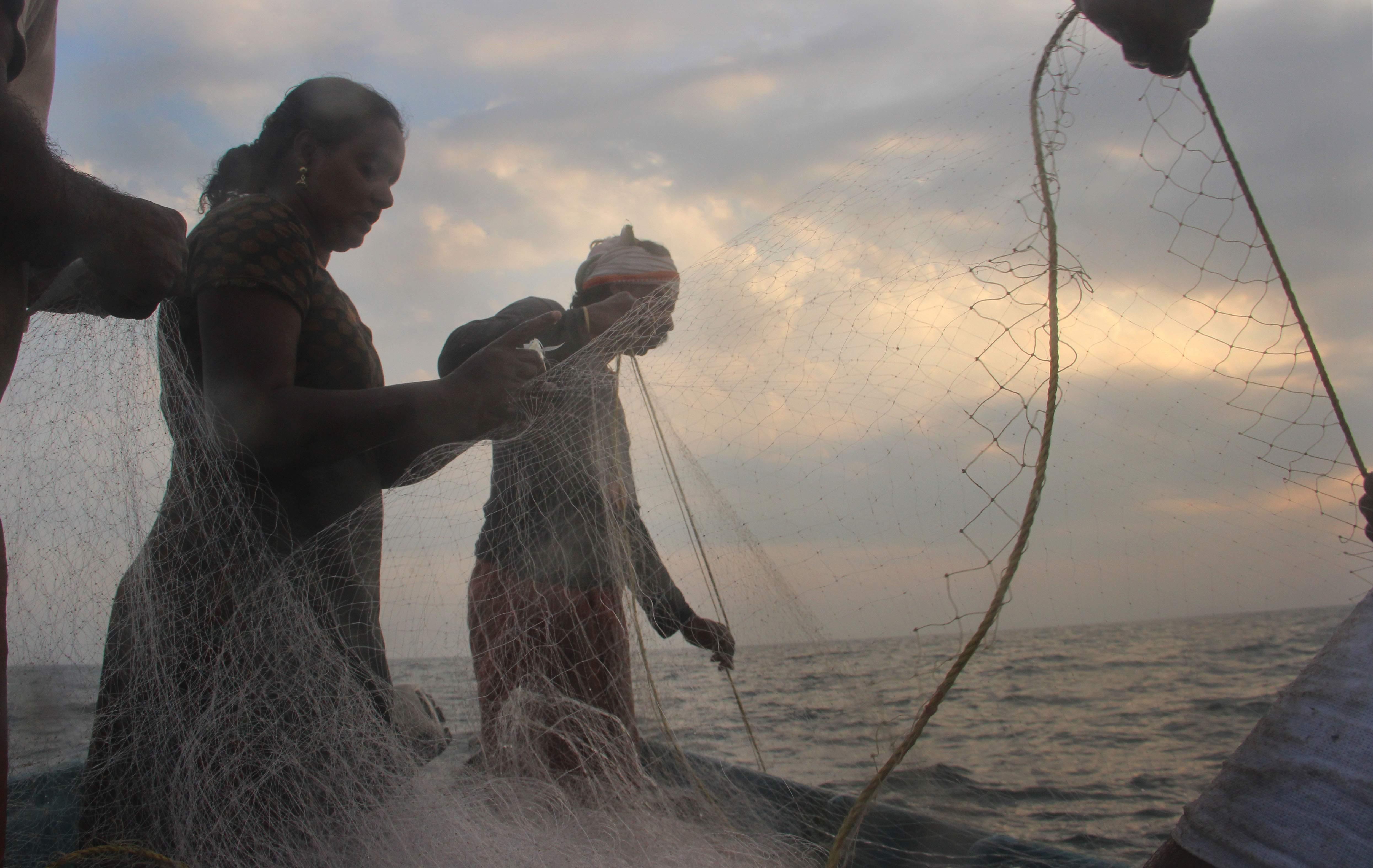 Rekha Karthikeyan kerala fisherwoman