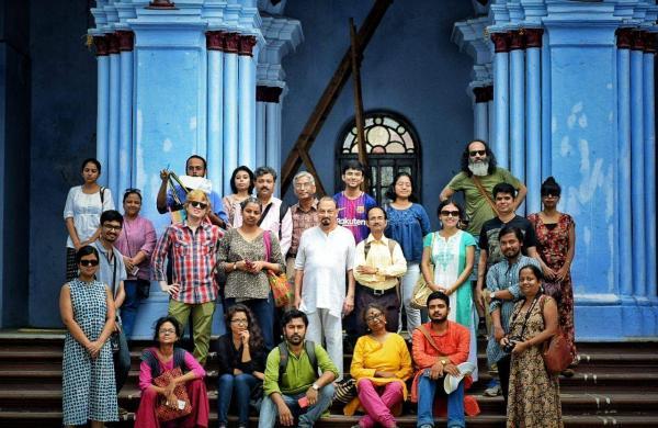 A Sahapedia team outing in Kolkata
