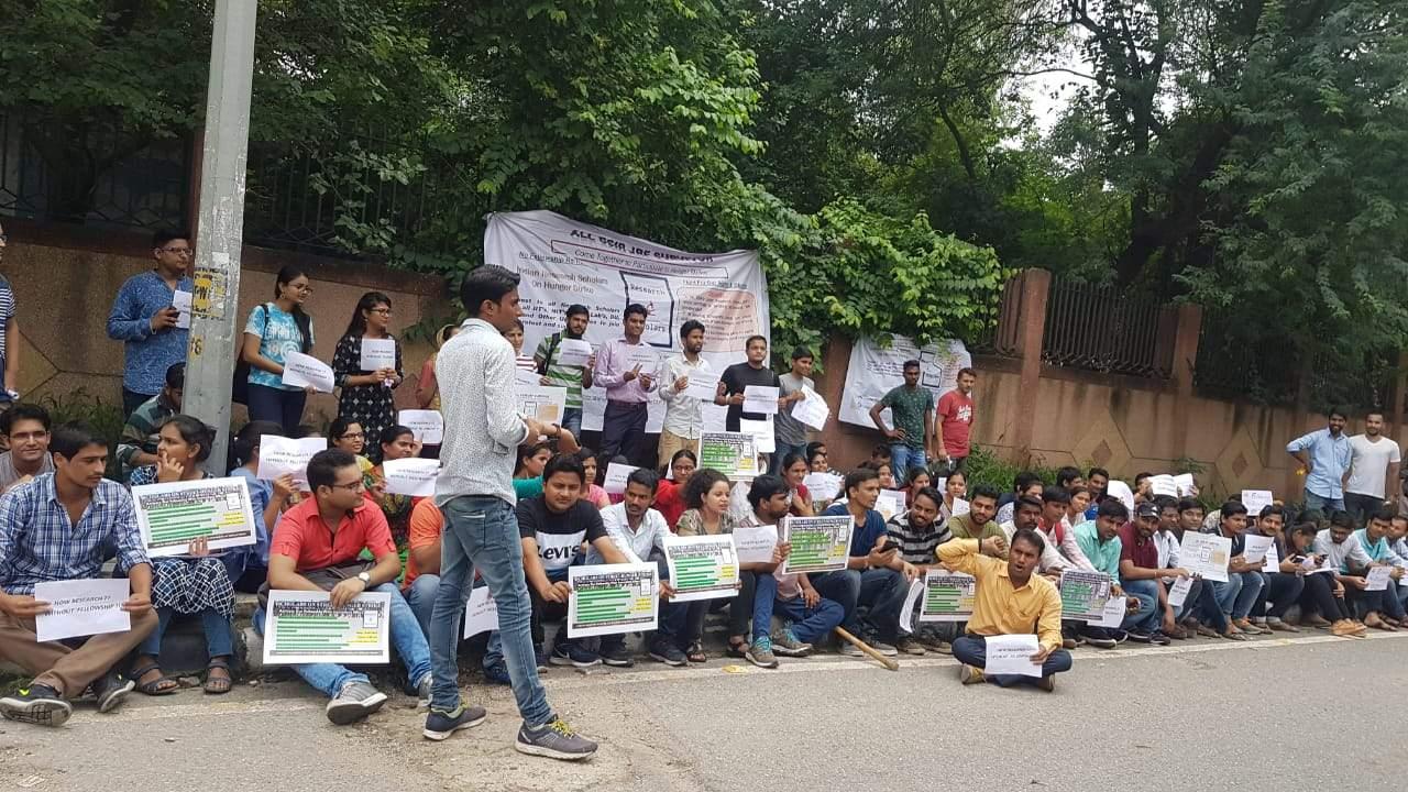 CSIR Hike Protest