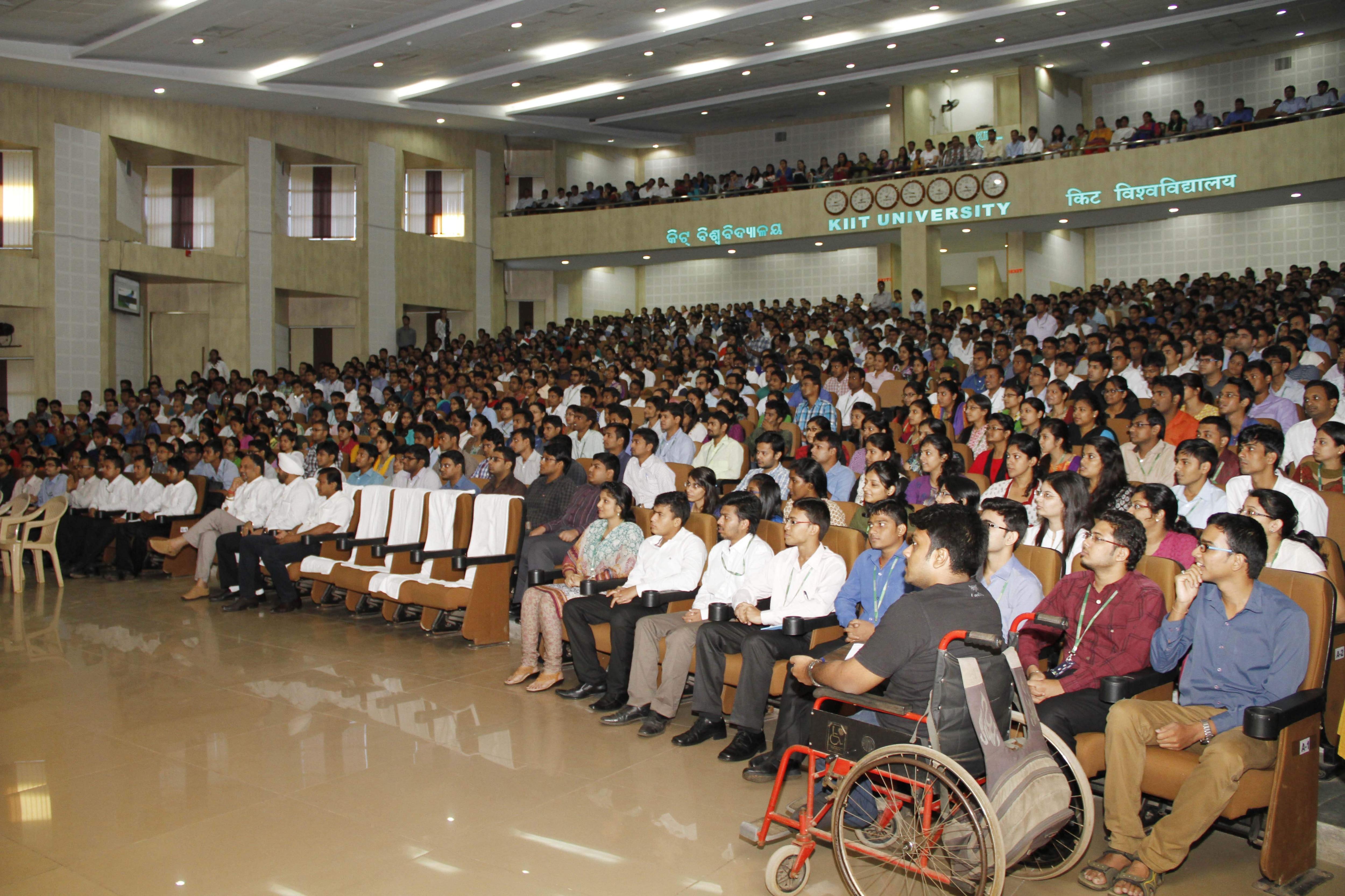 Students at KIIT