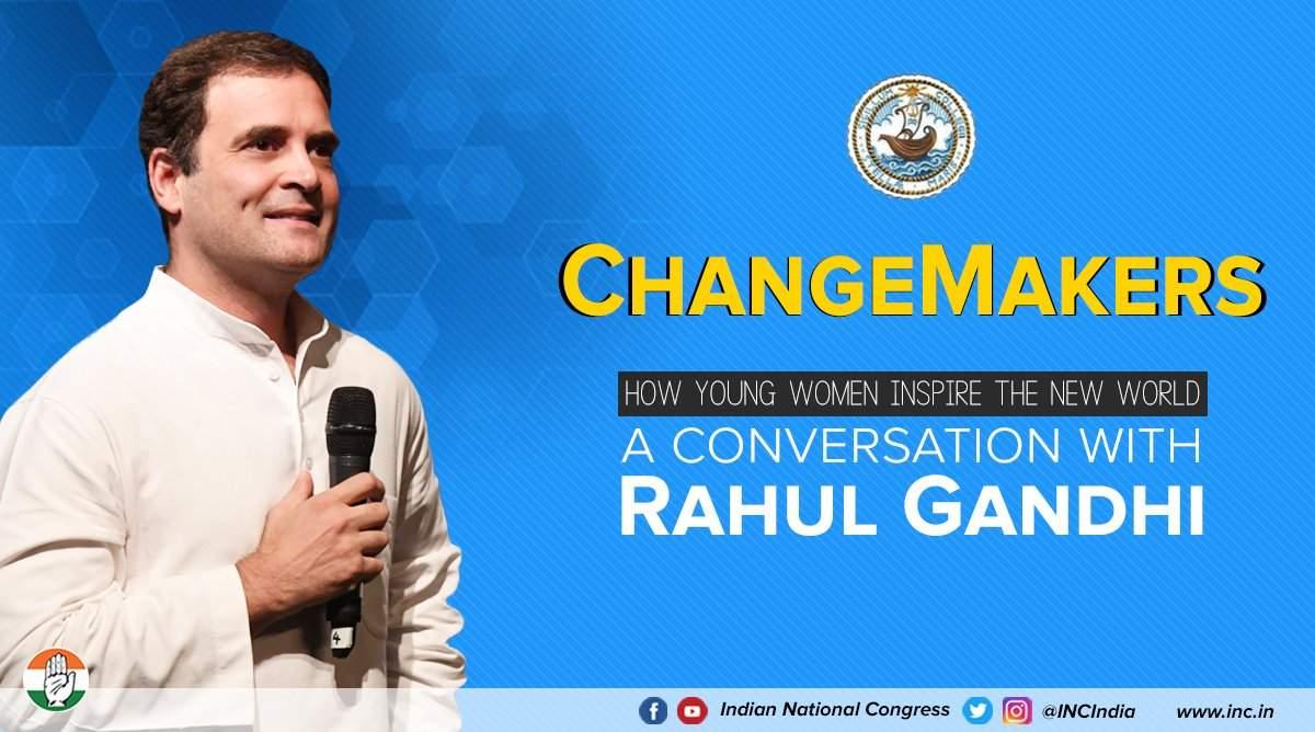 Rahul Gandhi at Stella Maris