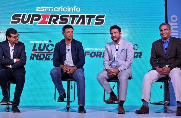 (L__R)_Sambit_Bal,Editor-in-chief,ESPNcricinfo,_Rahul_Dravid,_Former_Indian_Captain,_Sanjay_Manjrekar,_ESPNcricinfo_expert_Prof_Raghunathan_Rengaswamy,_IIT_Madras