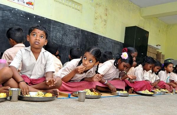 Mid-Day Meals in Karnataka