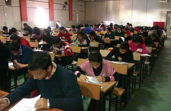 CBSE Students writing exam