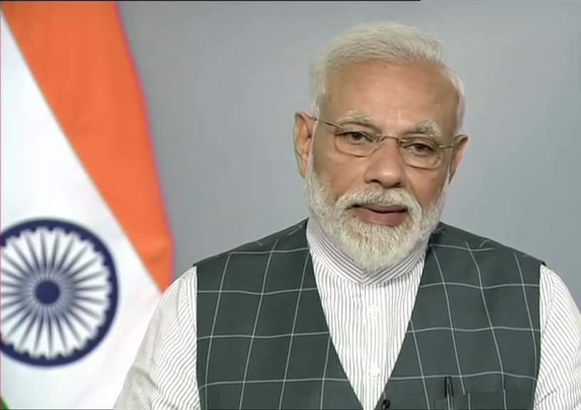 Modi's address LIVE update