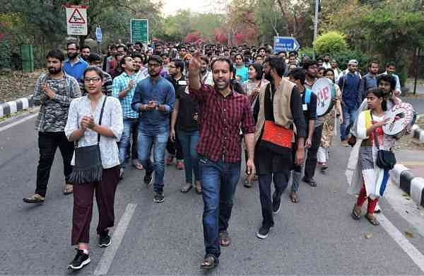 JNU students hunger strike