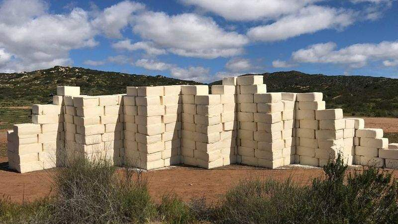 Wall of Cheese on US-Mexico Border