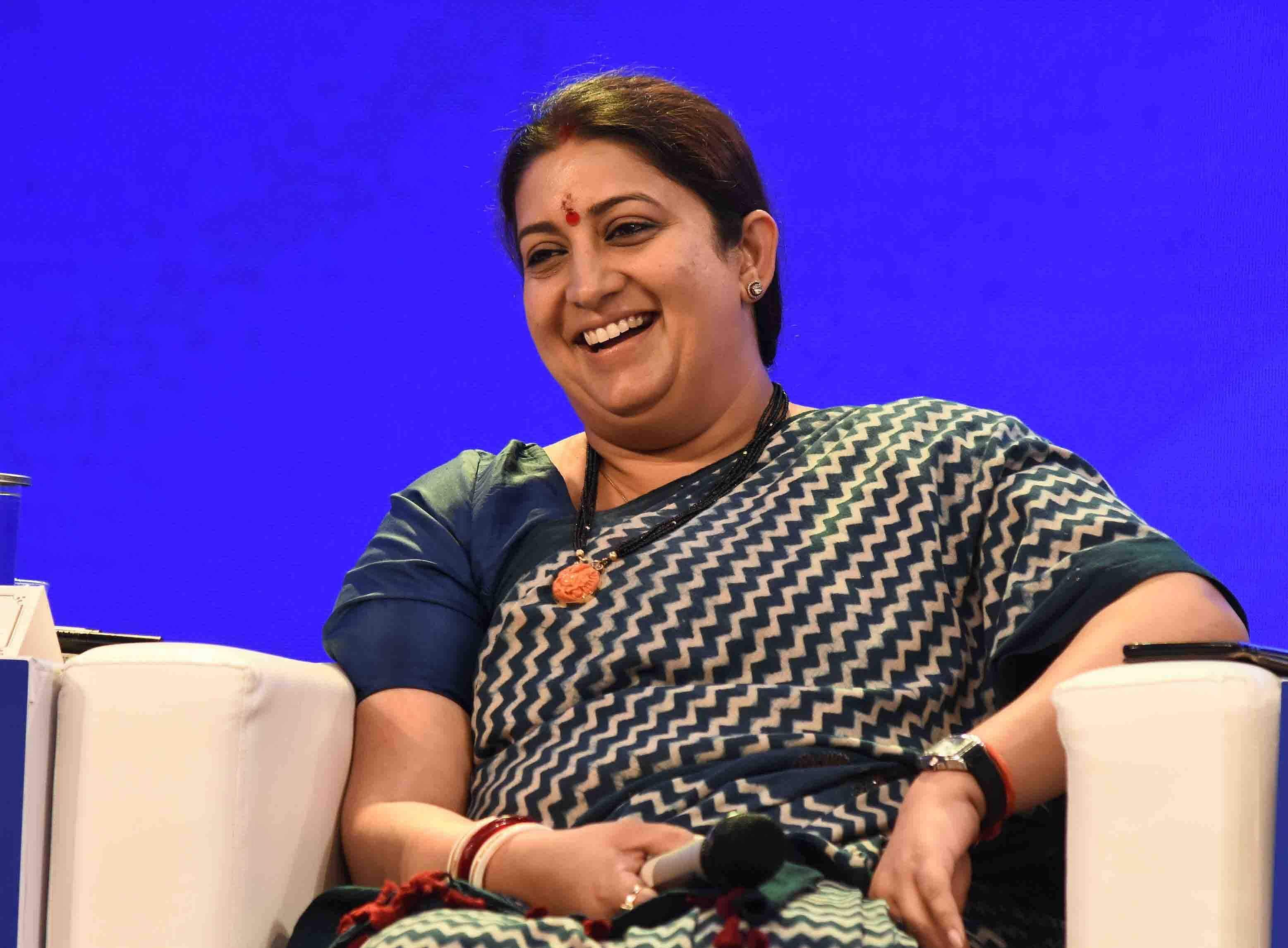 Smriti Irani education qualification