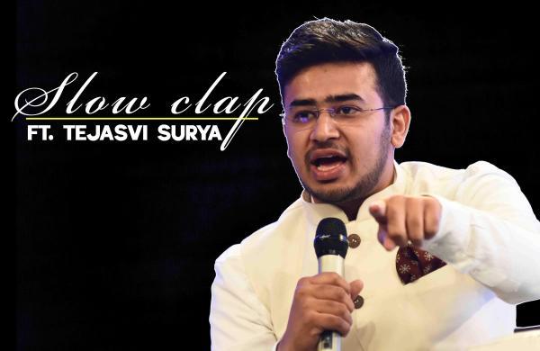 Tejasvi Surya Slow Clap