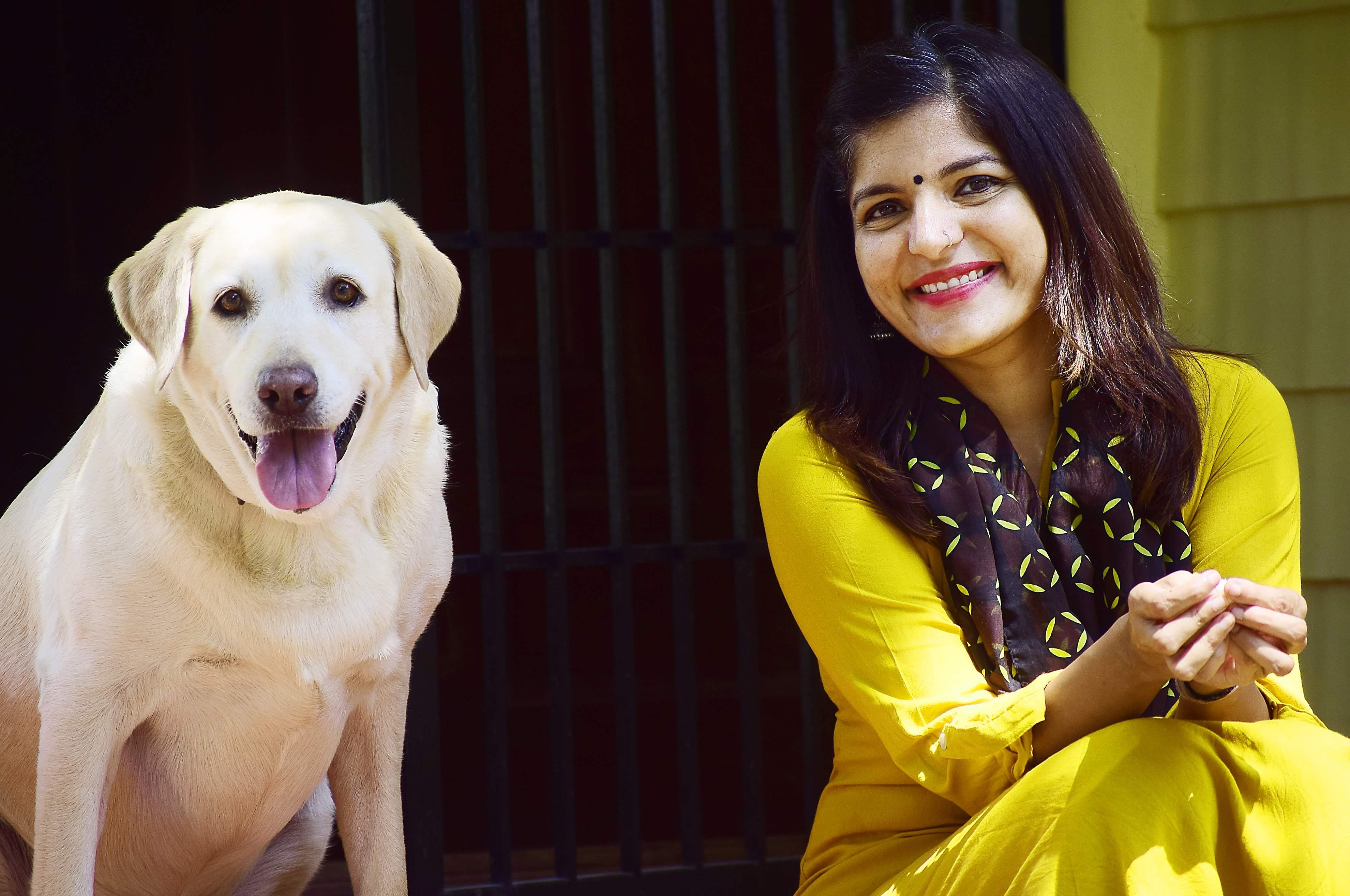 Rajeshwari with Susie (Pics: Pandarinath B)