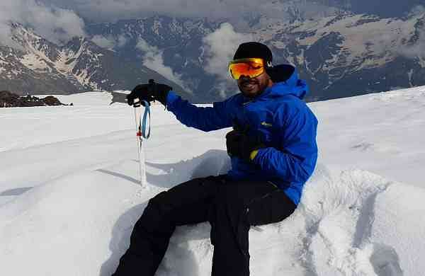 Mountaineer VJ Nagender Rao