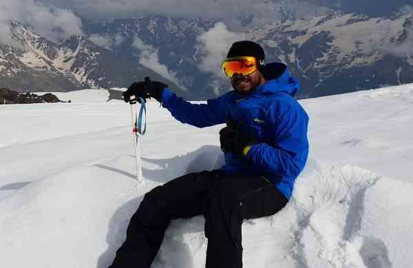 Mountaineer VJ Nagender Rao