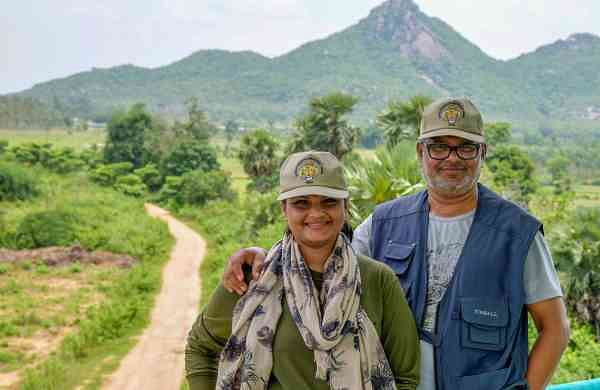 Pramod and Gloria Dhal