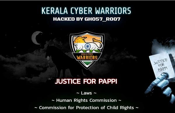 Justice for Thodupuzha case, Kerala Govt websites hacked
