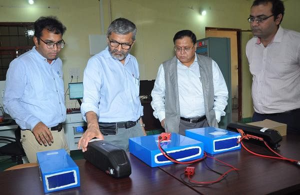 Professors from ITT Hyderabad designed four electric vehicles that will circuit places powered by lithium batteries
