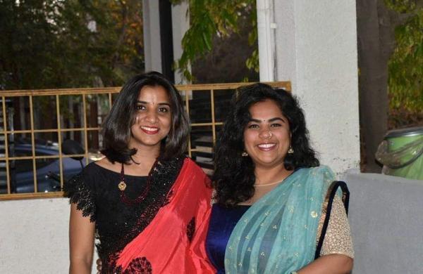 Sanjna Hangal and Vathsala Rangegowda