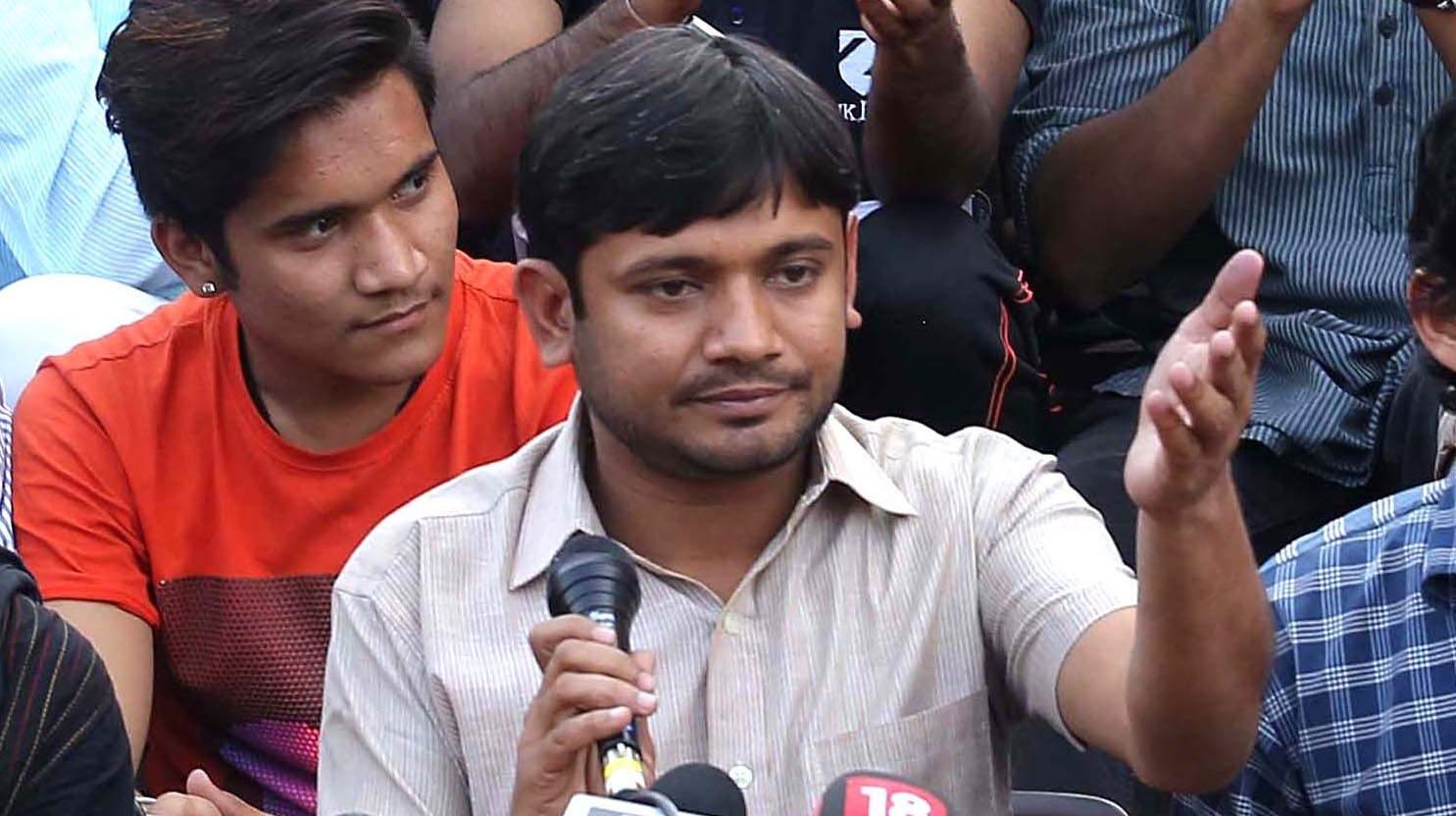 Kanhaiya Kumar JNUSU President