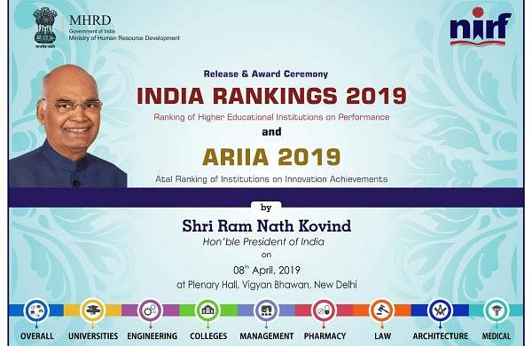 NIRF Rankings 2019, NEET