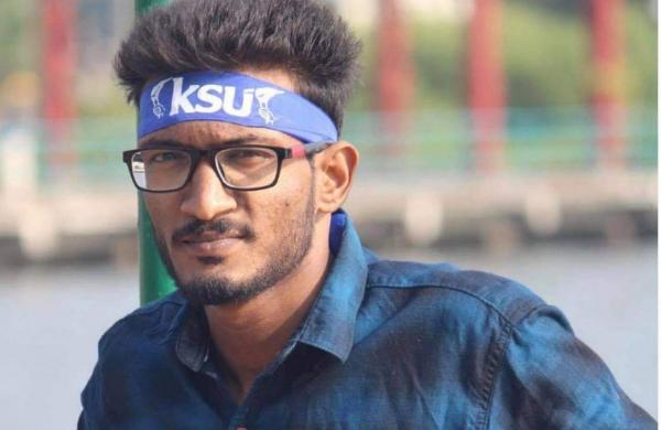 Rafi is a KSU activist kerala