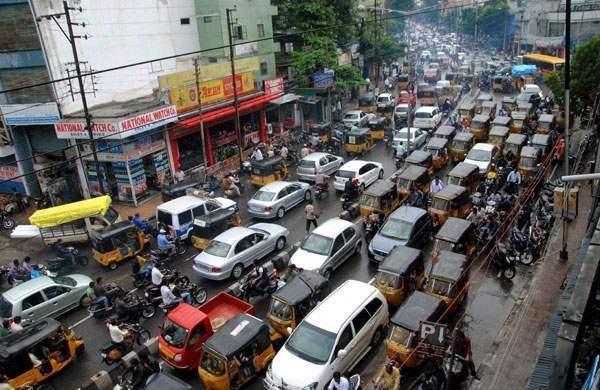 Hyderabad Traffic