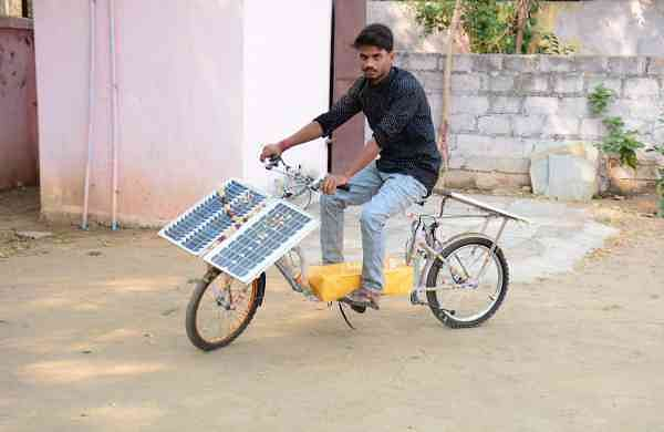 Sai Teja Three-in-one bicycle