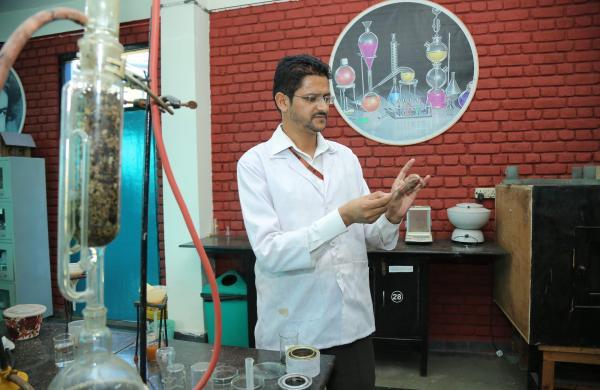 LPU professor created natural paints