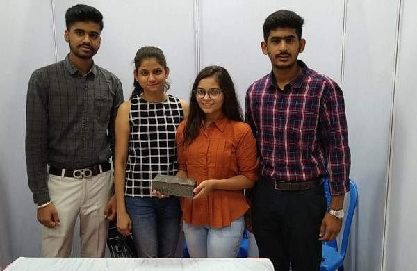 Four college students from Udaipur recycle industrial waste to make 'Wricks'!