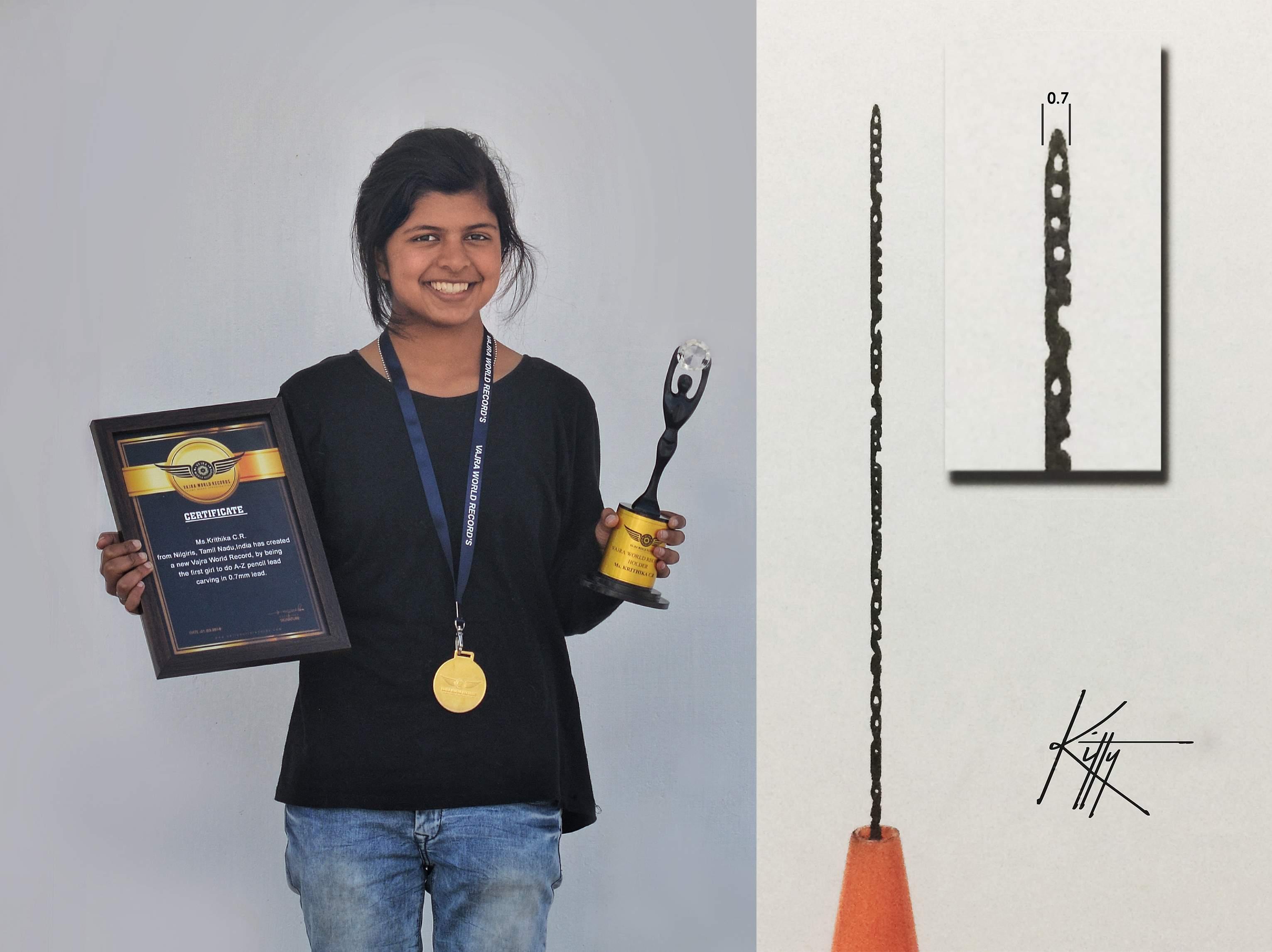 Krithika Ramesh, Coonoor artist
