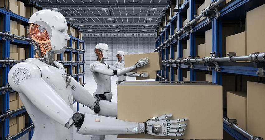 Robotics warehouse