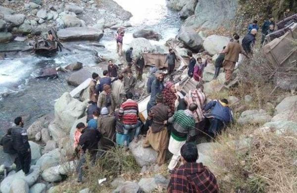 kashmir accident
