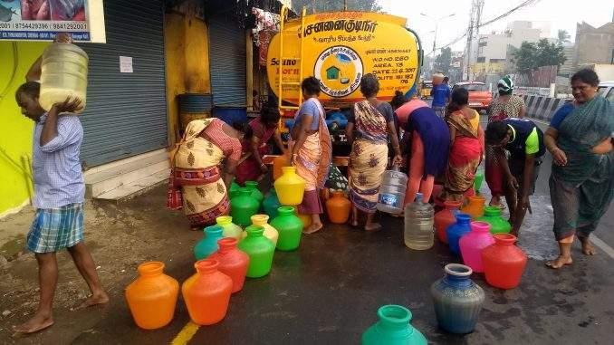 WATER SCARCITY, Tamil Nadu