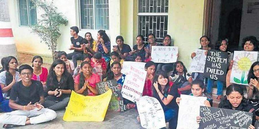 TISS Students Protest
