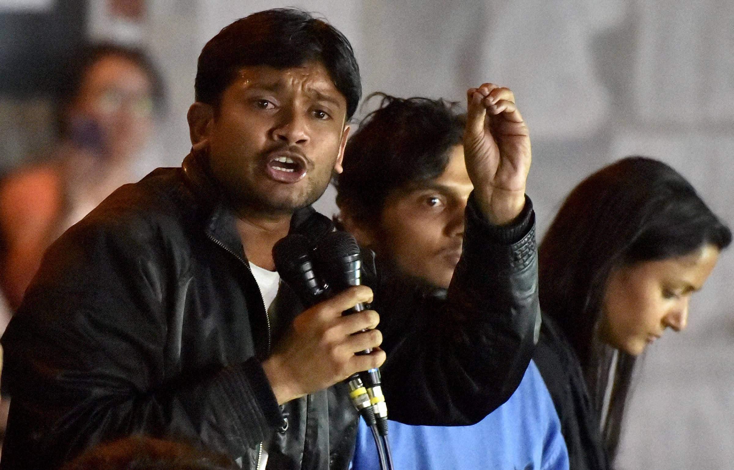 Kanhaiya Kumar sedition